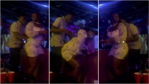 Kumawood actor gives woman with heavy backside yawa after she offered him her tundra for free (Watch)