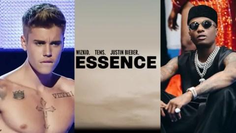 "Justin Bieber thanks Wizkid for featuring him on ""Essence"" remix"