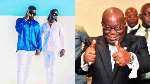 'I'm sorry'- Sarkodie apologizes to Prez Nana Akufo Addo over 'thievery' comment