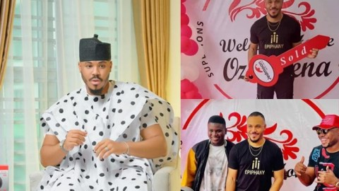 Reality TV star, Ozo receives a house as 28th birthday gift from fans, see photos and video