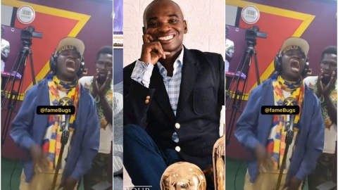Dr UN set to release new R&B song dubbed 'Ade Akye', drops a freestyle session which will definitely give you headache (Watch)