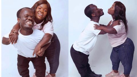 Lovely 'Save The Date' Photos Of Diminutive Couple Melt Hearts On Social Media