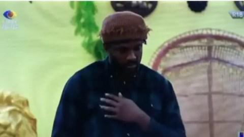 "BBNaija 2021: ""I Was Not A Good Father But I Did Love You"" – Cross Mourns His Dead Fish Targaryen Okonkwo [Video]"
