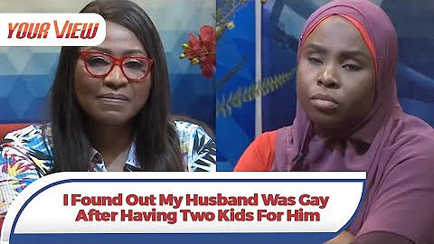 """""""How I found out my husband is gay three years after marriage"""" – Woman tearfully reveals on TV"""