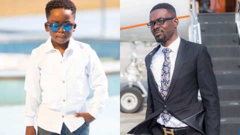 Nana Appiah Mensah Sends Touchy Message To His All Grown Handsome Son As He Celebrates His Birthday