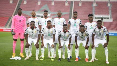 World Cup qualifier: Check out Black Stars 'strong' lineup against Ethiopia