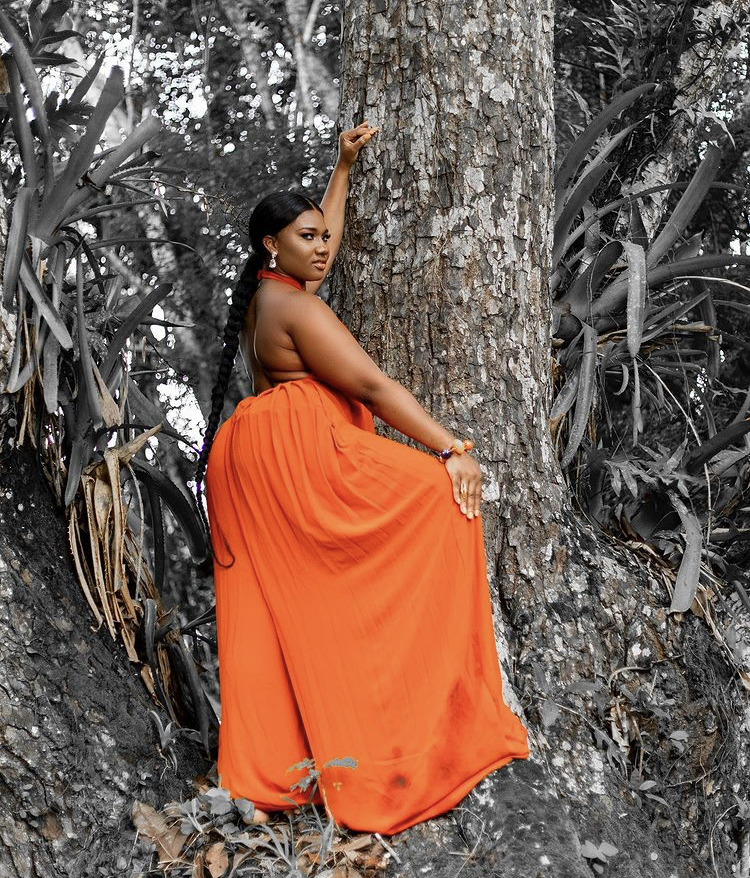Abena Korkor Feeling Uplifted As She Shares Stunning New Photos