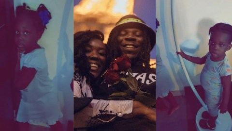 Stonebwoy's Children Give Their Mum Tough Time In Hilarious Video