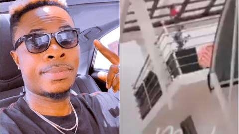 A year after Shatta Wale sacked him from his camp, Natty Lee puts his mansion, cars on display in a new video