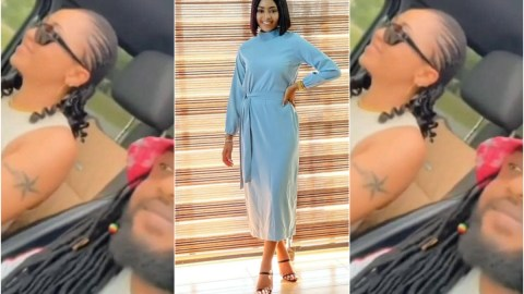 Rare video of Nigerian actress Regina Daniels singing Shatta Wale's 'Taking Over' word for word takes over the internet