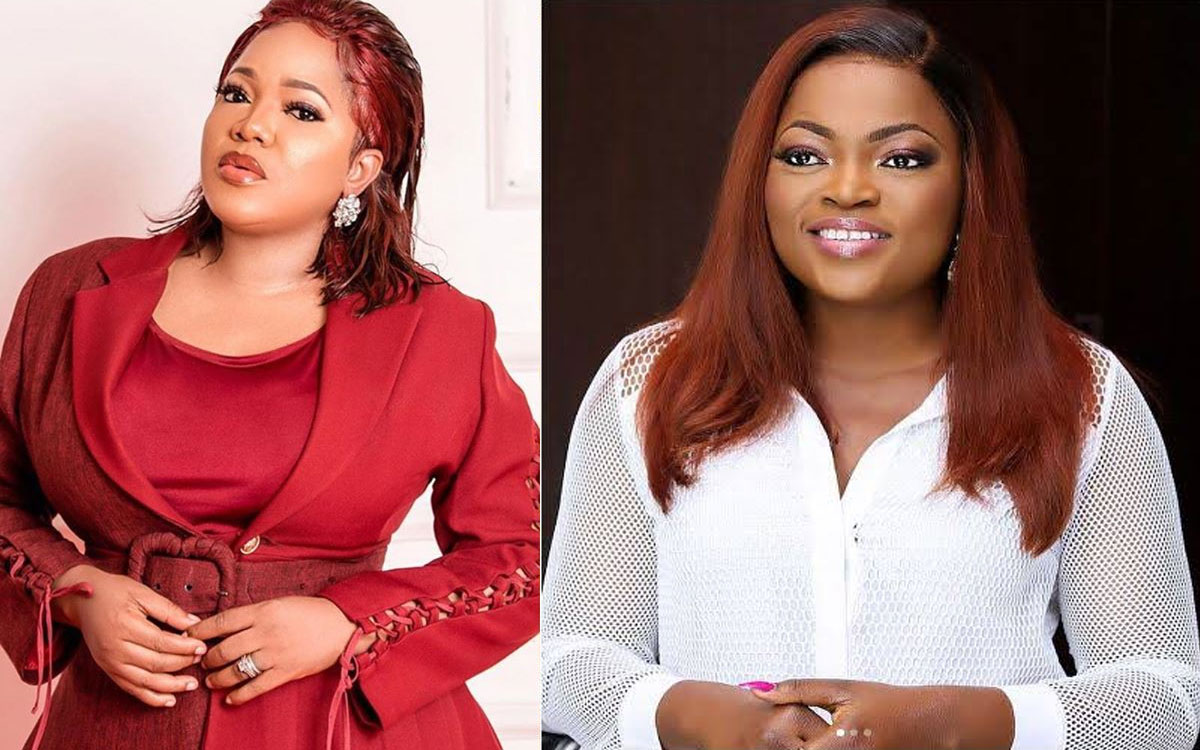 """""""I Don't Care Who Is Doing Better Than Me"""" Toyin Abraham Wades Into Iyabo Ojo Allegation That Funke Akindele Is Sabotaging Her"""