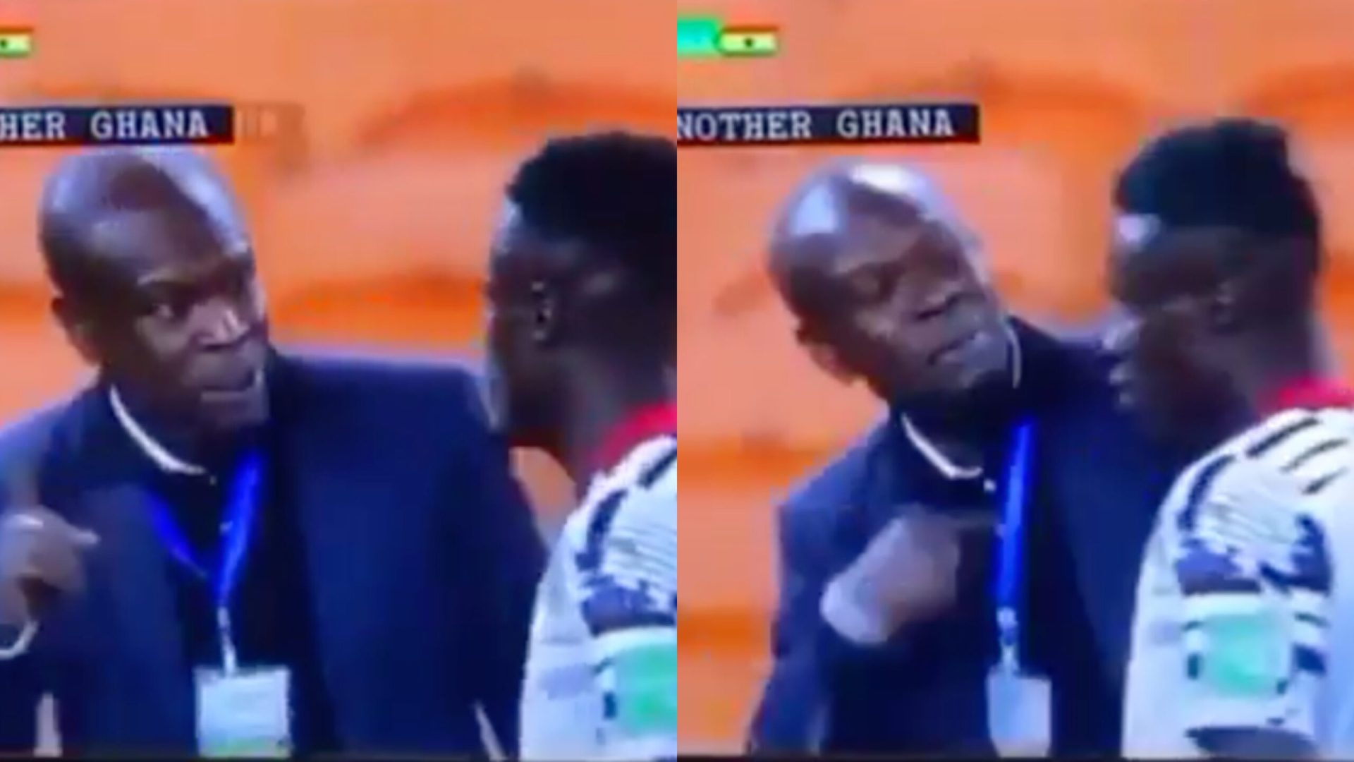 Revealed: Video evidence of CK Akonnor warning striker Kwame Poku to score against South Africa or risk playing for Blacks Stars again