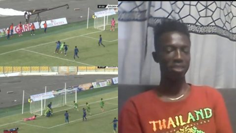 """""""He plays better than Messi, he needs support"""" – Ghanaians' reaction to excellent dribbling abilities of Division 2 player, Mizak Asante [Video]"""
