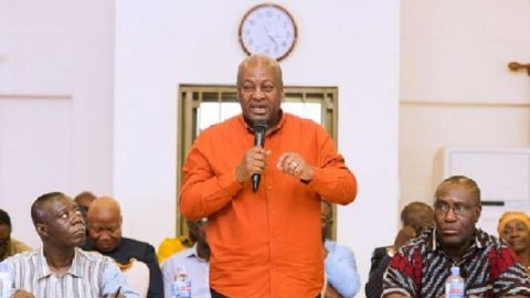 NDC has all the answers to Ghana's problems – Mahama