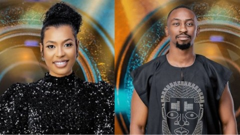 BBNaija 2021: Nini And Saga Spotted Gossiping Again, Says She Saw Queen Touching Herself Till She 'Came' [Video]