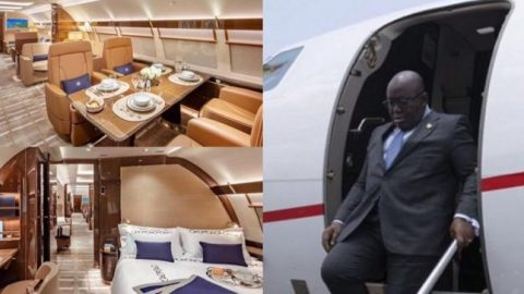 Liberia's George Weah using Ghana's presidential jet for free while Akufo-Addo enjoys luxury jets – New report