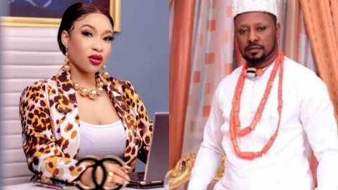 She has been opening her legs to other guys like Lekki toll gate- Tonto Dikeh's Boyfriend of 3months drops wild allegations after they parted ways