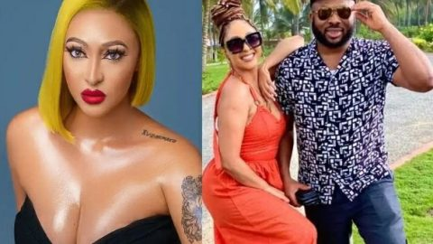 """Rosy Maurer Claims She'll Never Leave Olakunle Churchill For Any Side Chick, Says """"If He Cheats I Will Forgive Him"""""""