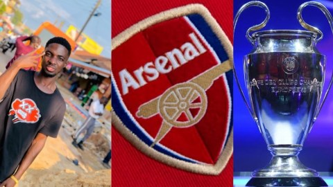 I'll never marry till Arsenal win the Champions League- Young man from Nigeria vows