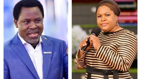 """""""This Is Ridiculous, She Was Never Anointed"""" – Church Members Of Late TB Joshua Reject Widow, Evelyn As His Successor"""