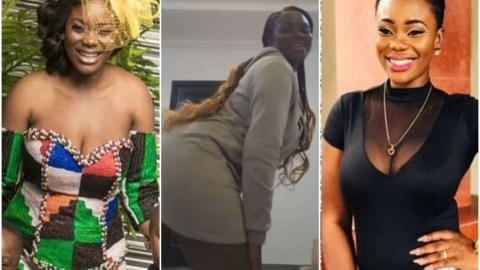 Akua GMB shakes her bortos seductively in new video perhaps to remind her former husband, Dr kwaku Oteng what he's missing