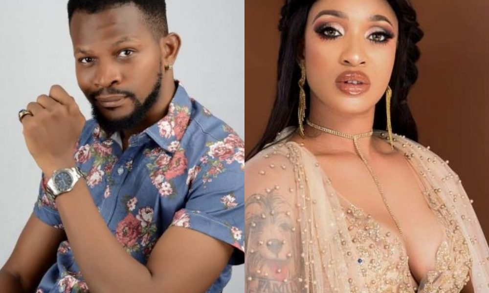 """Uche Maduagwu Comforts Tonto Dikeh Following Break Up With Ex-boyfriend, Prince, Says """"No Man Is Worth Your Tears"""""""