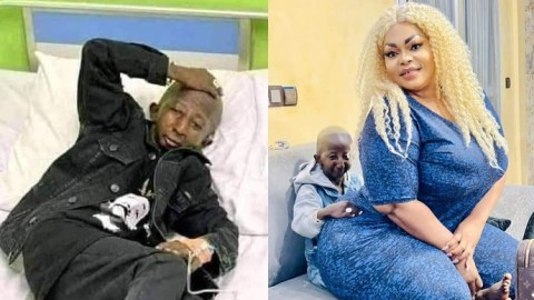 Sad as singer Grand P suffers hip dislocation and rushed to the hospital weeks after 'eating' his 'heavy duty' fiancée when they reconciled