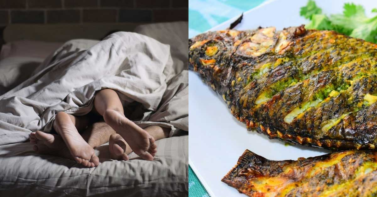 Man in tears after his girlfriend was chopped mercilessly with grilled tilapia
