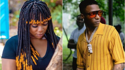 Shatta Michy finally reacts to allegation of meeting Wizkid in his hotel room – Video