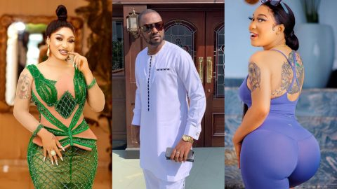 Tonto Dikeh Finally Reacts To Reports Of Sleeping Around With Half Of The Men In Lagos While Dating Prince Kpokpogri