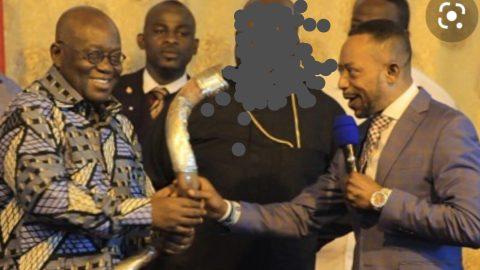 Video Of Owusu Bempah Telling His Church Members That Being Friends With Top People In Ghana Makes One Avoid Jail Pops Up – (+Watch)