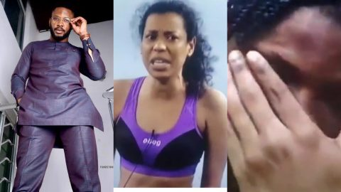 BBNaija 2021! Cross Weeps After Nini Hurled Insults At Him When He Asked Her To Wash The Bathroom (+VIDEO)