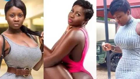 (+VIDEO) Actress Princess Shyngle stuns her IG followers with raw tw**king show