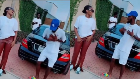 MzVee And Oseikrom Sikani Excite Fans With A Dance Challenge (video)