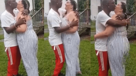Nana Tornado reportedly quits being gay as he is spotted sharing kiss with older white woman in latest video