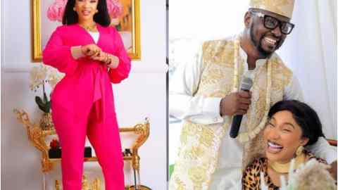 Tonto Dikeh Adds 'Attempted Murder' To Her List  Of Allegations Against Prince Kpokpogri, Says He Tried To Kill Her