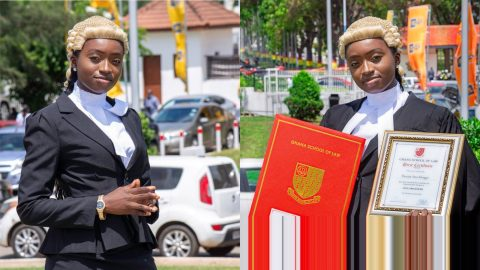 Youngest Lawyer In Ghana: Meet Ama Aboagye DaCosta, The youngest person to be called to the Ghana Bar at age 22