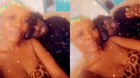 Delay and Amerado spark fresh dating rumours as they are seen having a lovey-dovey moment