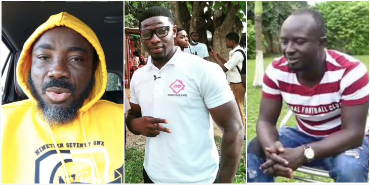 Quoo Fante gives 50ghc to actor Ogyam