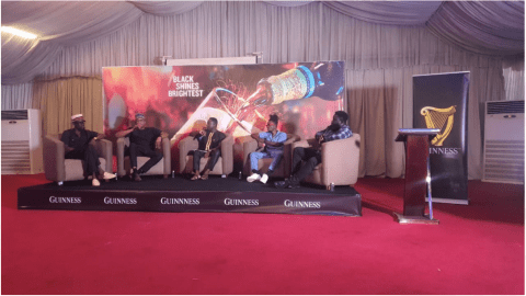 Black Shines Brightest: Guinness and 3 Music Network hold Master Class for young creatives in Kumasi