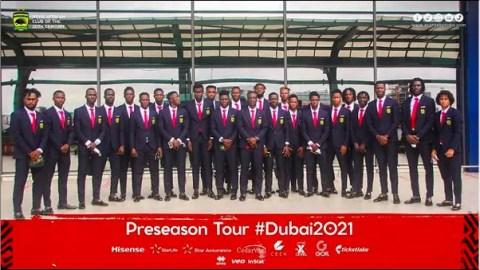 SAD: Asante Kotoko end pre-season tour in Dubai without a win in three games