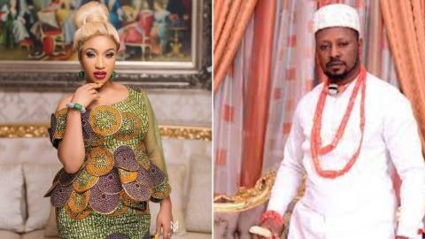 Tonto Dikeh's Ex-lover, Prince Kpokpogri Allegedly Arrested And Detained By The Police