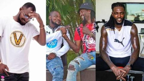 You spoke to me and I did not listen so what, f̷u̷c̷k you- Moment Funny loses his cool on Adebayor despite getting two cars from him and several expensive gifts (Watch)