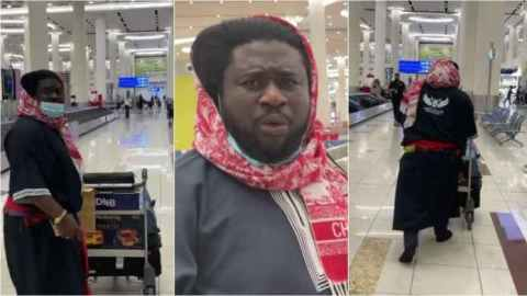 Bishop Ajagurajah mistaken for a 'mad man' in Dubai over his dressing (Watch)