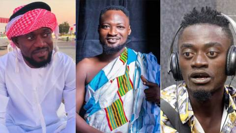 (+VIDEO) Funny Face goes ballistic once again; threatens to beat up Lilwin, Kalybos and Bismark The Joke