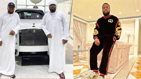 """""""I'll stand by you till the end of time""""- Hushpuppi's friend Pac says as he celebrates him on his birthday"""