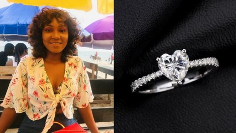 Don't propose to me if you can't afford an engagement ring of ₵7,400and above – Lady tells men