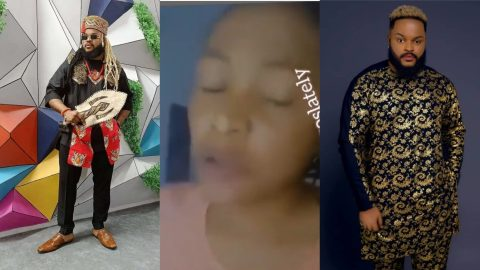 VIDEO: Do You Remember The Baby You Asked Me Not To Abort? – Lady Claims She Is Pregnant For Whitemoney After Big Brother Win