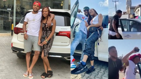 Actor, Charles Okocha Reacts To His Viral Video Smashing Friend's Car Over Daughter, Says It's A Movie Scene
