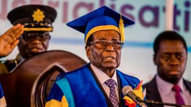 Photo of Zimbabwe ex-President Robert Mugabe dies aged 95